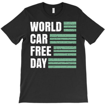 World Car Free Day T-shirt Designed By Dulart