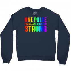 One Pulse Love Peace Orlando Strong Crewneck Sweatshirt | Artistshot