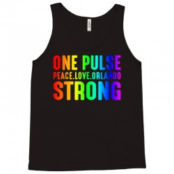 One Pulse Love Peace Orlando Strong Tank Top | Artistshot