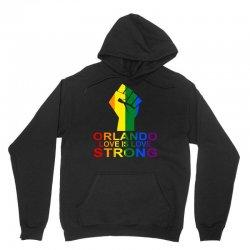 Orlando love Is Strong Unisex Hoodie | Artistshot