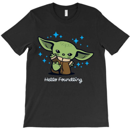 Hello Foundling T-shirt Designed By Koopshawneen
