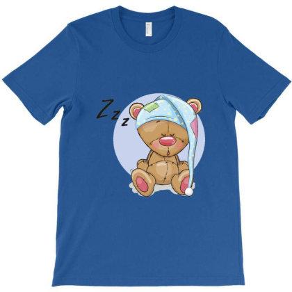 Baby Cute Teddy Bear Cartoon T-shirt Designed By Coşkun