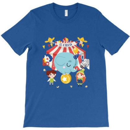Baby Cute Little Elephant T-shirt Designed By Coşkun