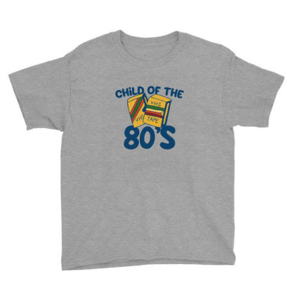 Child Of The 80s Youth Tee Designed By Blackstone