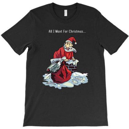 Christmas Jumper Santa Delivers Sam T-shirt Designed By Hoainv