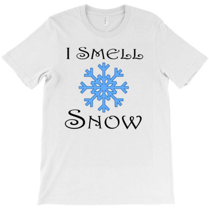 Cute I Smell Snow Winter Holiday Christmas T-shirt Designed By Hoainv