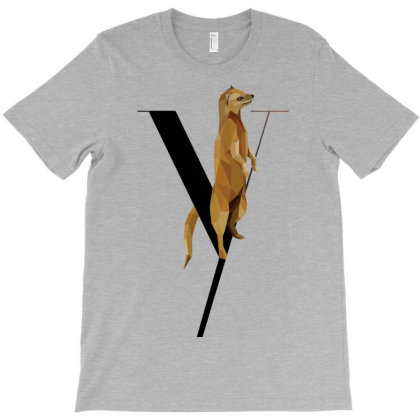Animal Typography Art T-shirt Designed By Chiks