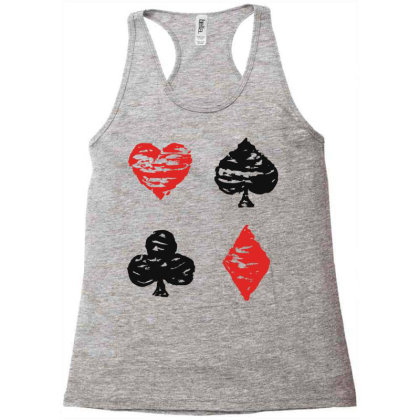 Cards Racerback Tank Designed By Chiks