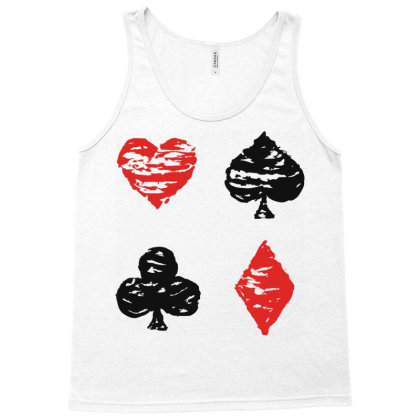 Cards Tank Top Designed By Chiks