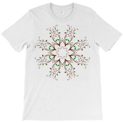 Floral Flower Elements T-shirt Designed By Chiks