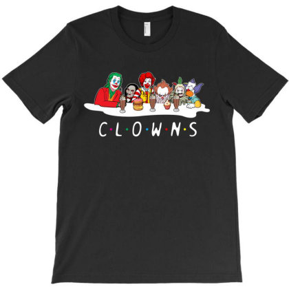 Clowns Coffee Design T-shirt Designed By Rardesign