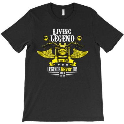 Living Legend. 1988 T-shirt Designed By Rardesign