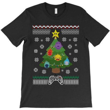 Game Christmas T-shirt Designed By Rardesign