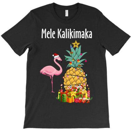 Mele Kalikimaka T-shirt Designed By Rardesign