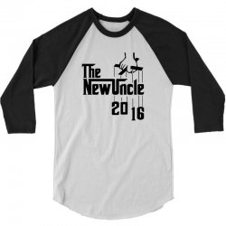 The New Uncle 2016 3/4 Sleeve Shirt   Artistshot