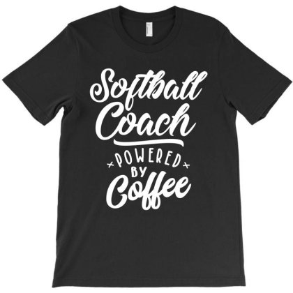 Softball Coach Job Title Gift T-shirt Designed By Cidolopez
