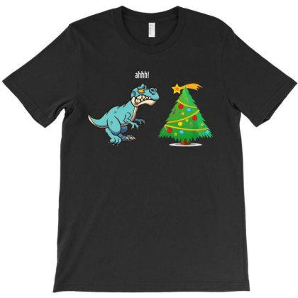 Dinosaur Tree Meteor T-shirt Designed By Rardesign