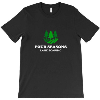 Four Seasons Landscaping T-shirt Designed By Asatya