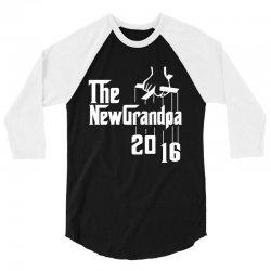 The new grandpa 2016 3/4 Sleeve Shirt | Artistshot