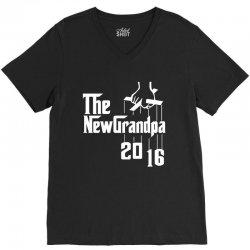 The new grandpa 2016 V-Neck Tee | Artistshot