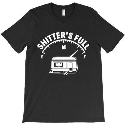 Camper Caravan Camping T-shirt Designed By Ismi