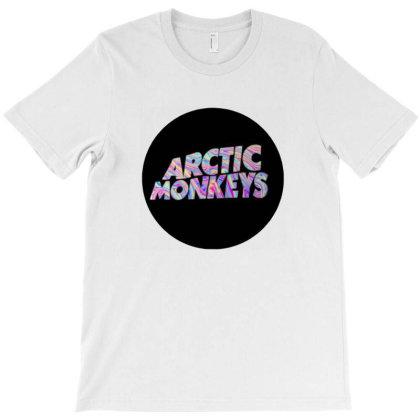 Chimpanzee Arctic Band T-shirt Designed By Gita Nava