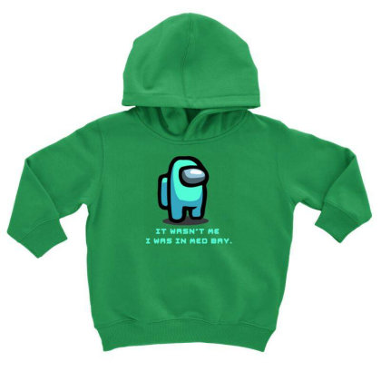 Among Us Game Toddler Hoodie Designed By Rimba Kurniawan