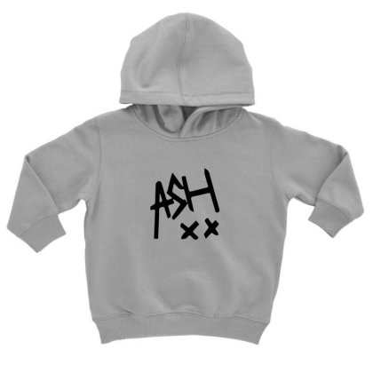 Ash Music Toddler Hoodie Designed By Rimba Kurniawan