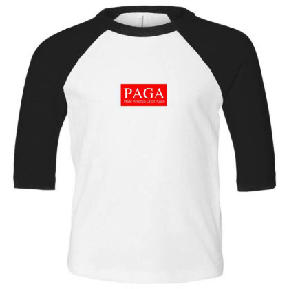 Paga Makan Toddler 3/4 Sleeve Tee Designed By Gita Nava