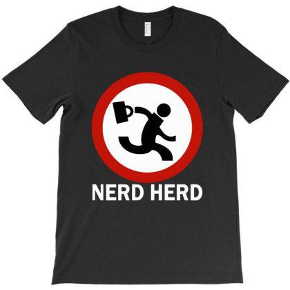 Nerd Herd T-shirt Designed By Kimochi