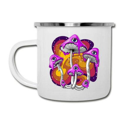 Magic Mushroom Psychedelic Camper Cup Designed By Gita Nava