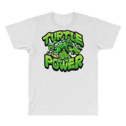 Ninja Turtles Power All Over Men's T-shirt Designed By Kimochi