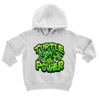 Ninja Turtles Power Toddler Hoodie Designed By Kimochi