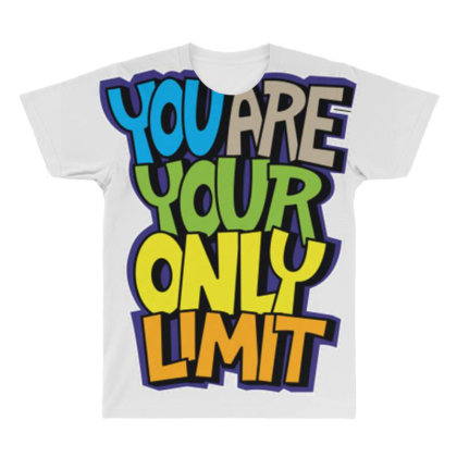 You Are Your Only Limit 1 All Over Men's T-shirt Designed By Dulart