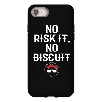 No Risk It No Biscuit Iphone 8 Case Designed By Kimochi