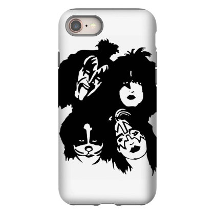 Kiss Band Tour Iphone 8 Case Designed By Gita Nava