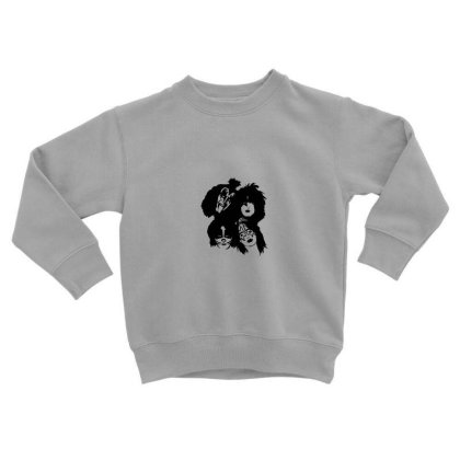 Kiss Band Tour Toddler Sweatshirt Designed By Gita Nava
