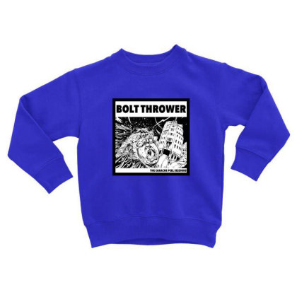 Death Metal Toddler Sweatshirt Designed By Rimba Kurniawan