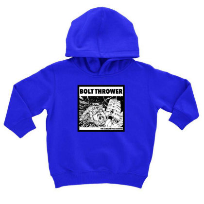 Death Metal Toddler Hoodie Designed By Rimba Kurniawan