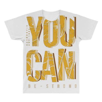 You Can Be Strong 4 All Over Men's T-shirt Designed By Dulart