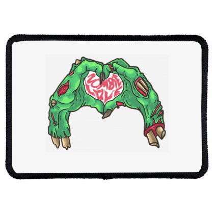 Zombie Classic Rectangle Patch Designed By Gita Nava