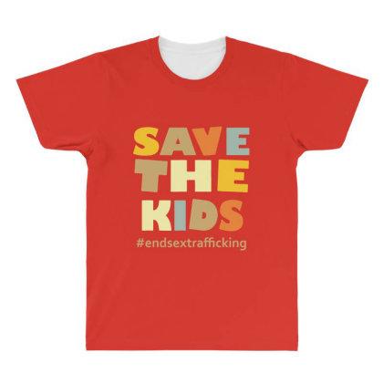 Child Trafficking All Over Men's T-shirt Designed By Rimba Kurniawan
