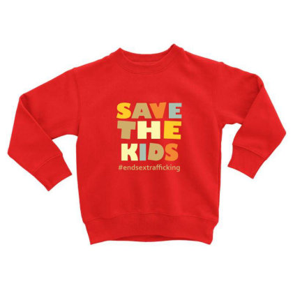 Child Trafficking Toddler Sweatshirt Designed By Rimba Kurniawan