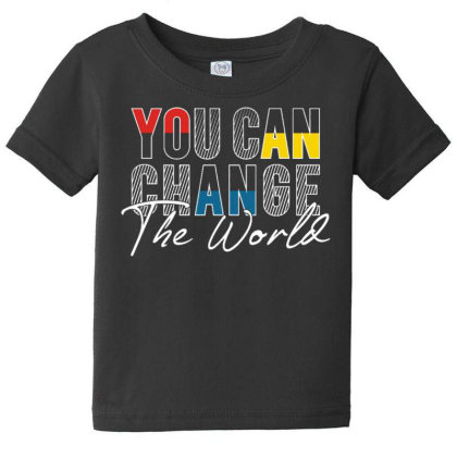 You Can Change Baby Tee Designed By Dulart