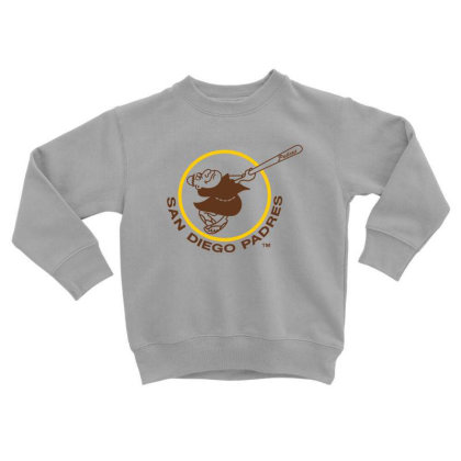 Sandiego Padres Toddler Sweatshirt Designed By Rimba Kurniawan