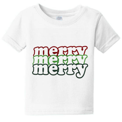 Merry Bright Christmas. Xmas Gift, Xmas 2020 Baby Tee Designed By Welcome12