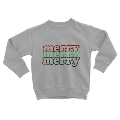 Merry Bright Christmas. Xmas Gift, Xmas 2020 Toddler Sweatshirt Designed By Welcome12