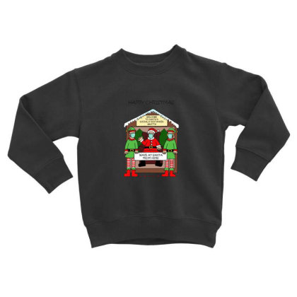 Social Distancing Time Toddler Sweatshirt Designed By Gita Nava