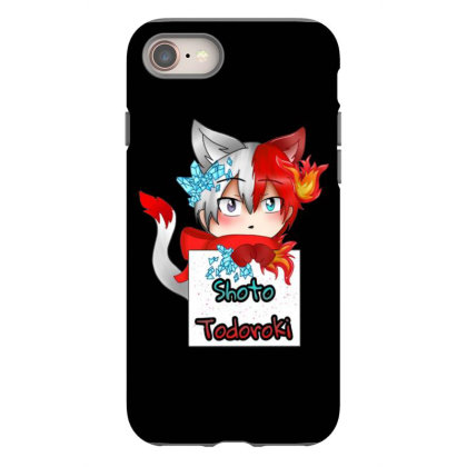 Todoroki Shoto Hero Iphone 8 Case Designed By Gita Nava