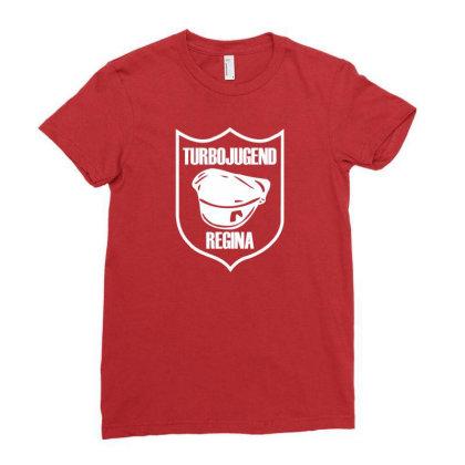 Hardcore Ladies Fitted T-shirt Designed By Rimba Kurniawan
